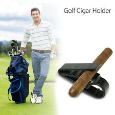 Golf Cigar Holder Cart Boat Minder Grip Clamp Golf Accessories Golf Club