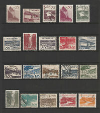 [Portugal - Mozambique 1949 - Views] complete set in perfect used condition