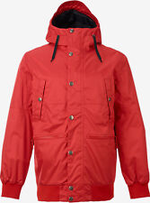 Burton Snowboard Jacket Mens TWC Primetime Red (Medium) New