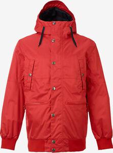 Burton Snowboard Jacket Mens TWC Primetime Red (Medium) New