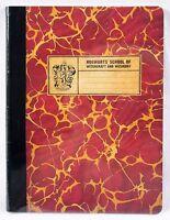 Wizarding World Of Harry Potter Hogwarts Gryffindor Composition School Notebook