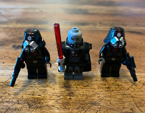 LEGO Star Wars 9500 Minifigures LOT Darth Malgus, Sith Troopers & Weapons