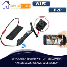 SPY CAMERA SPIA HD WIFI P2P TELECAMERA NASCOSTA MICROCAMERA DETECTION