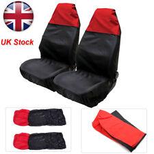 Universal Heavy Duty Nylon Car Seat Covers Waterproof Protectors Van Front UK