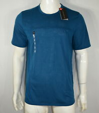 Under Armour Men's T-shirt Xl Threadborne Elite Crew Neck Techno Teal Nwt