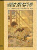 A Child's Garden of Verse Robert Louis Stevenson & Jessie Willcox Smith HC