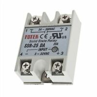 Solid State Relay For Pid Temperature Controller Output 24V-380V 25A SSR-25 D rr