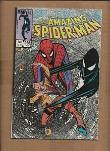 AMAZING SPIDER-MAN #258 1ST PRINTING  BLACK SUIT MARVEL COMICS