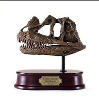 Ceratosaurus T-Rex Dinosaur fossil Skull Model Replica 1:4 Scale