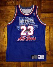 Vintage 1993 Michael Jordan NBA All Star Authentic Champion Jersey bulls pippen
