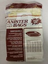 8 Pack Sears Kenmore Canister Vacuum Cleaner Bags Fresh Aire 20-50555 NEW