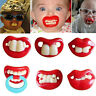 Funny Dummy Dummies Pacifier Novelty Teeth Baby Child Soother Cute Baby teeth