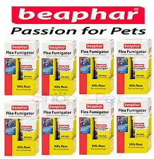 PET FLEA FUMIGATOR BEAPHAR (aka) FLEA BOMB, KILLS FLEAS FLIES & BEDBUGS