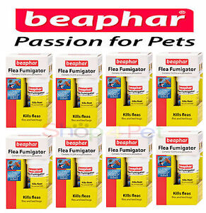 PET FLEA FUMIGATOR BEAPHAR (aka) FLEA BOMB, KILLS FLEAS FLIES & BEDBUGS