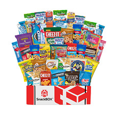 SnackBOX Care package for College students, Military, Office Snacks, Bulk....