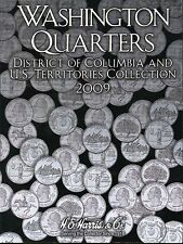 Coin Folder - 2009 Washington Quarters DC & Territories Harris Album 2640 - NEW