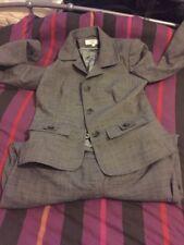 Women Next Petite Gray Suit Size 10