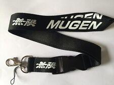 Honda Mugen Lanyard NEW Black - UK Seller - Car Keyring ID Holder Phone Strap