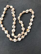 Old Polynesian Pacific Island Tribal Shell Necklace 82 Cowry Shells 41 Other