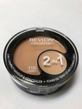 Revlon Colorstay 2 in 1 Compact Makeup and Concealer 11g Ivory #110