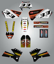 KTM EXC Series 2003 Full  Custom Graphic  Kit -FACTORY STYLE stickers / decals