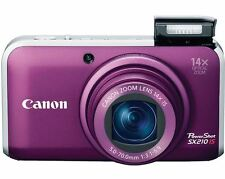 Canon PowerShot SX210 IS morado