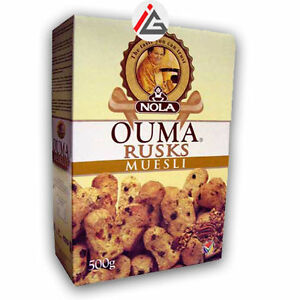 Ouma - Muesli Rusks - 500 gm