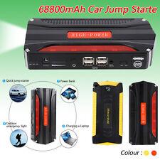 Sale! 68800mAh Car Jump Starter Pack Booster Battery Charger 4 USB Power Bank