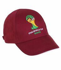 Casquette bordeaux FIFA coupe du monde de foot Brésil - 458