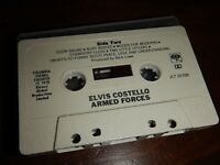 Audio Cassette Tape Elvis Costello and the Attractions Armed Forces - No Inlay