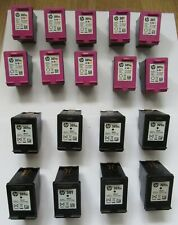 More details for x18 empty ink cartridges - genuine hp 301xl & 301 (black & colour)