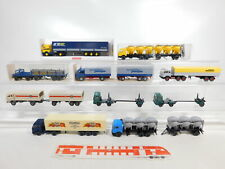 CA528-1 #10x Wiking 1:87/H0 Truck Mercedes: 392+455+575+510 Etc, Good
