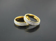 Wholesale Lots 25pcs Stainless steel Filled Rhinestone Classic Fashion Rings