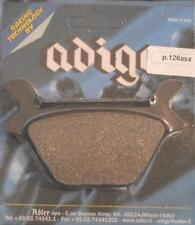 1982-on Harley Davidson XLH FXE rear brake pads Made In Italy by Adige P.126ASX