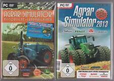 Agro Simulateur 2013 + AGRICOLE SIMULATOR historique machines agricoles Collection PC
