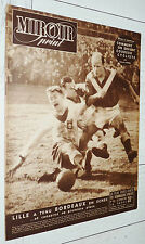 MIROIR SPRINT N°192 1950 FOOTBALL BORDEAUX-LILLE BOYE ARGENTINE GENOA RUGBY