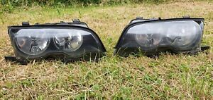 BMW 3 Series E46 Coupe Pre Facelift Halogen Headlights