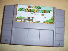 Super Mario World REMIX/REVISED for Nintendo SNES Super Famicom console