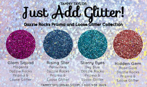 Tammy Taylor Nails - Just Add Glitter! Collection - Loose Glitter - 4 Colors