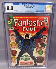 FANTASTIC FOUR #46 (Inhumans Black Bolt 1st app) CBCS 8.0 VF Marvel 1966 cbcs