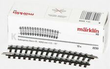 Märklin H0 - Binario K curvo R360mm 15° Set da 10