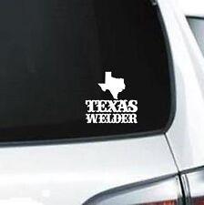 A261 Texas Welder welding vinyl decal car truck van suv