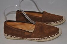 Gucci 'Pilar Guccissima' Espadrille Flat Nut Brown Women Size 36.5 $285