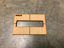 Bartolini H6- 6 String Bass routing pickup template-Routing templates