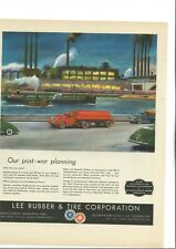 """Vintage Print Ad - 1944 - WWII - Lee Rubber & Tire (Youngstown) - 10"""" x 13"""""""