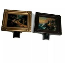 Vintage Thomas Kinkade Night Light the light of peace and one other