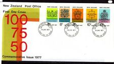 New Zealand 1977 Anniversaries  First Day Cover