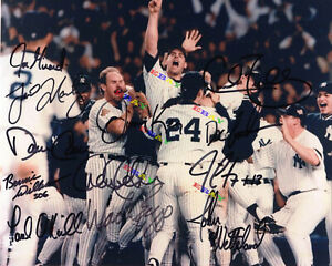 96 New York Yankees Autographed Signed 8x10 Photo Reprint