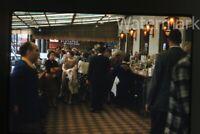 Vintage 1959 kodachrome photo slide San Francisco CA wharf