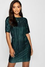 BNWOT Boohoo Pleated Dress Small UK 8 Store Price £30 (Ted Baker Hobbs Listed)